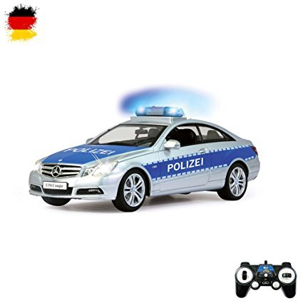 HSP Himoto Mercedes Benz E350 Coupe Polizeiauto