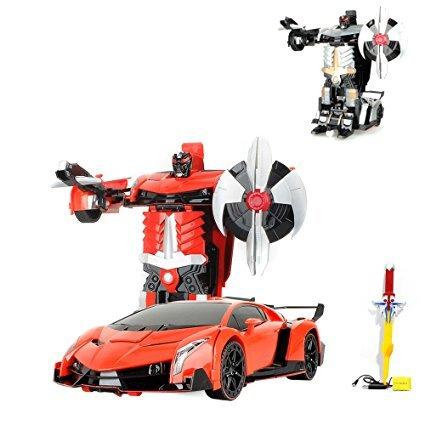 HSP Himoto RC ferngesteuertes Roboter Auto, Transformation