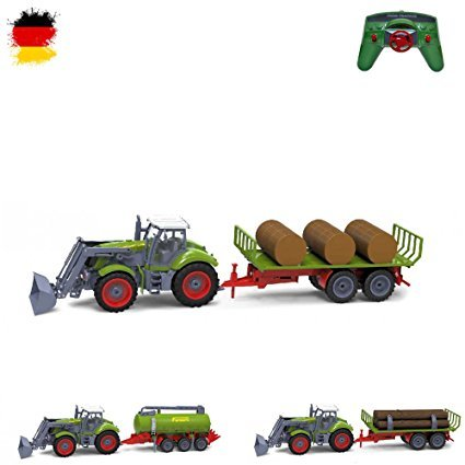HSP Himoto XXL RC ferngesteuerter Traktor mit Anhänger