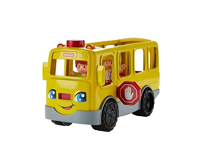 Mattel FKW99 Little People Schulbus