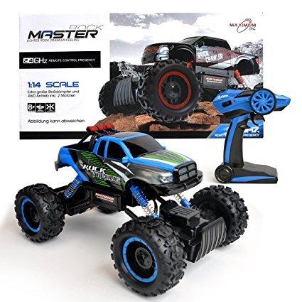 Maximum Rc Rock Master Monstertruck Ferngesteuertes Auto Test 2018