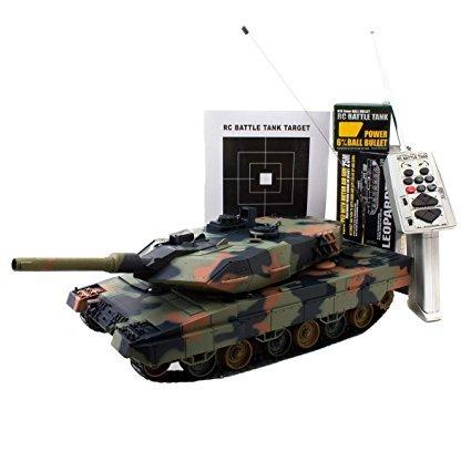 No Name Ferngesteuerter R/C Panzer 1/24 Leopard II A5