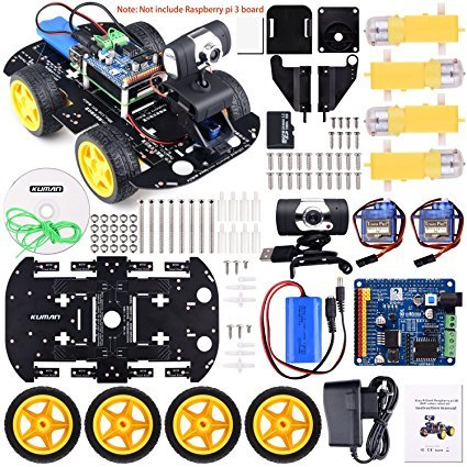 No Name Kuman Professional WIFI Smart Robot Model Car