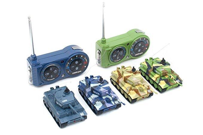 No Name Mini RC Panzer GERMAN TIGER I