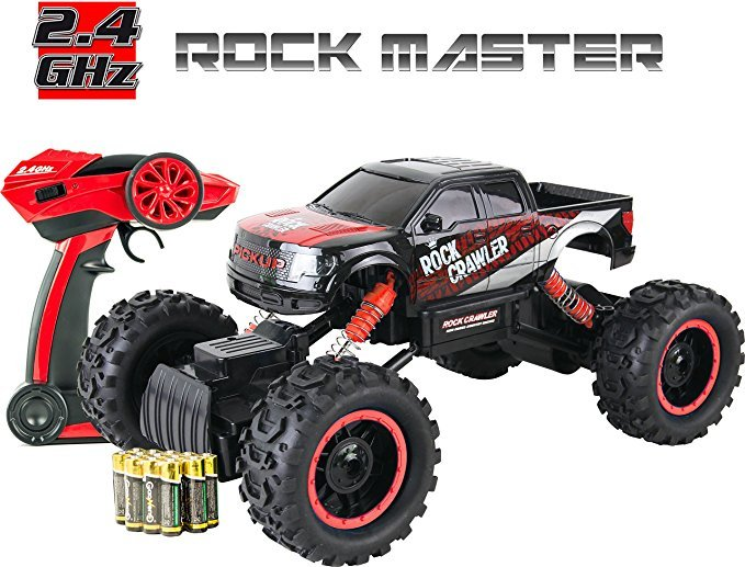 no name rock crawler 4x4 rc auto ferngesteuertes auto test. Black Bedroom Furniture Sets. Home Design Ideas