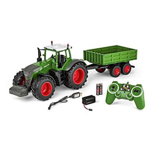 Carson 500907314 RC Traktor mit Anhänger Ferngesteuertes Fahrzeug