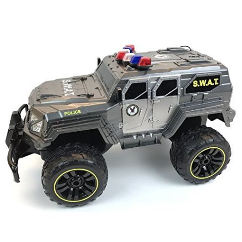 BUSDUGA 2486 RC Monstertruck Polizei SWAT