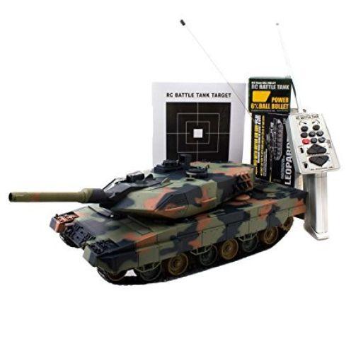 Ferngesteuerter R/C Panzer 1/24 Leopard II A5