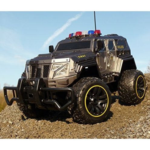 WIM-Modellbau RC Jeep SWAT POLICE
